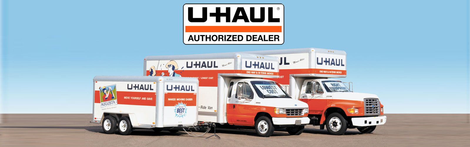 CHECK OUT OUR U-HAUL RENTALS